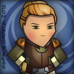 (c) Space Cadets Elara Dorne Icon